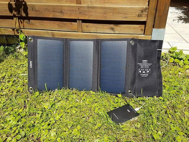 AUKEY PB-P4 21W Solarladegerät